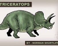 Triceratops Info Graphic