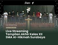 Live Streaming Tampilan Akhir SMA Al-Hikmah Surabaya