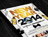 New Year Party | Flyers + Facebook Cover