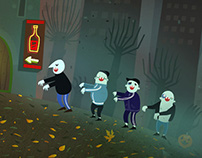 Halloween «In the Hood»  / Interactive Animation
