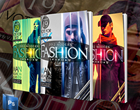 Fashion Flyer or Magazine Cover Template