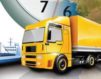 Art Direction for Logistics Management Magazine (2009)