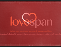 Lovespan : karmic relationship app concept