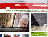 Campaña de lanzamiento CNNMéxico.com