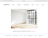 Archiv-e Website