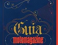 Moto lettering linha-fina