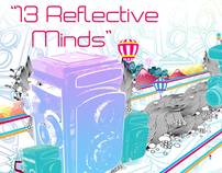 13 reflective minds exhibit