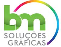 Identidade Visual BM Soluções Gráficas