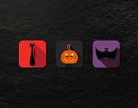 Free Halloween (Flat) Vector Set