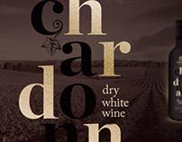Tikves Chardonay Wine label