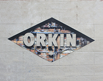 Orkin - Free Inspections Decal