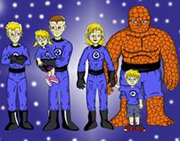 Fantastic four and siblings
