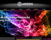 Site ARGON Gráfica