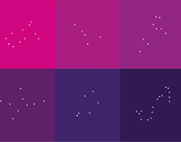 Minimal Zodiac 2014 Calendar Posters