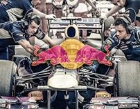 RedBull Vettel : Photo Retouch