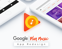 Google Play Music | Redesign