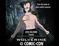 Wolverine at Comic-Con