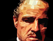 The Godfather Polygon art