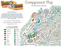 Blue Rocks Campground Map
