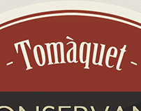 Etiqueta tomate en conserva