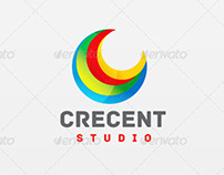 Crescent Studio - Logo Template