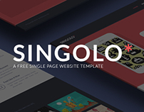 Singolo: Single Page Website