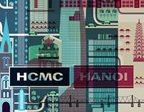 HANOI . HCMC