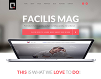 White - Multipurpose Modern Responsive Template