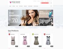 Star Shop PSD