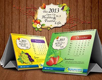 Calendar Design 2013 for Surana Group of Hospitals