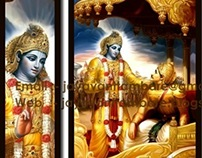 COPYWORK PAINTINGS FOR KRISHNA TEMPAL MUMBAI