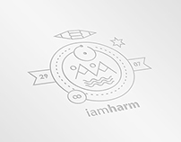 iamharm - Line Craft Logo