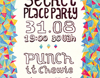 Poster for Secret Plase Party