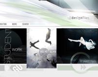 Design Files web facad