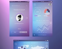 Mobile Analytics UI concept