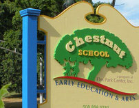 Sign for Chestnut School