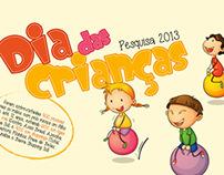Pesquisa Dia das Crianças 2013