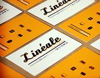 Studio Linéale business card