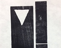 Disconnected - Relief Print Series