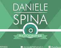 Personal Card - Daniele Spina Photographer