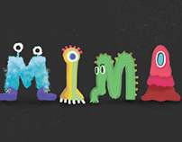 Monster typography