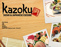 Design Package - Kazoku Sushi