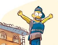 La Place Homère Simpson