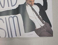 Navid Hasim Magazine Spreads