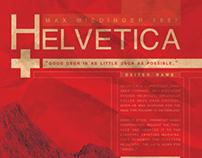 Helvetica | Poster