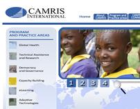 CAMRIS International proposed website