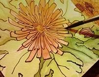 Heaven in Fall-Illustration