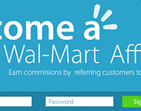 Wal-mart affiliate page Redesign