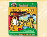 Artes Garfield - Embalagens, rotulos e produtos