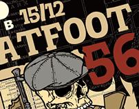 Flatfoot56 concert poster